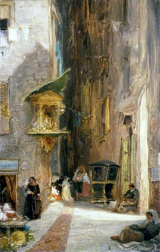A street in Genoa 1851